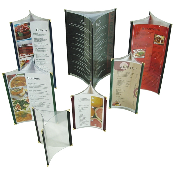 clipper table top menus by mainly menus ireland