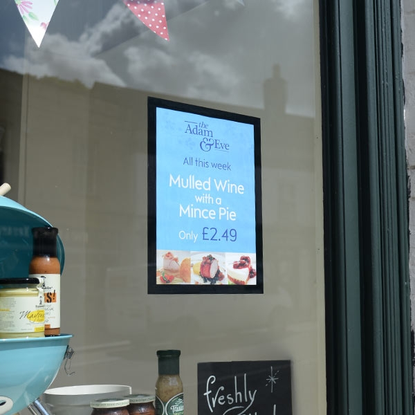 Meteor wall and window display by mainly menus Ireland