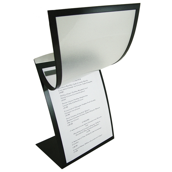 orion table top menu display by mainly menus ireland