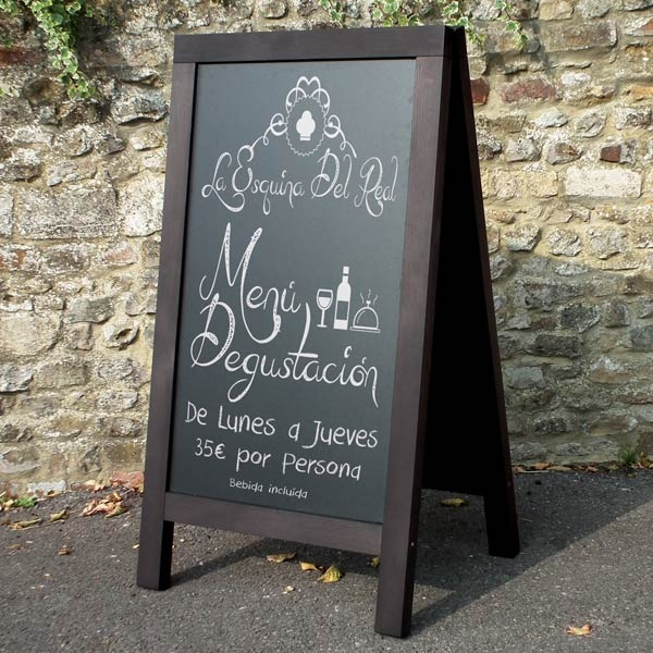 Pavement Chalk Board by mainly menus ireland